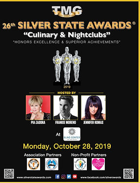 26th Silver State Awards - Culinary & Ni