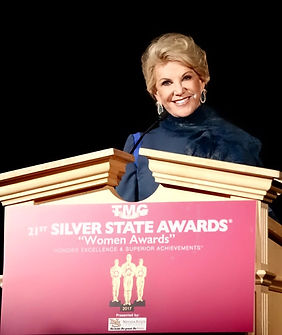 "Elaine Wynn - The Recipient of The ""Trailblazer Award"" at Silver State Awards"