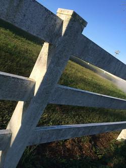 Fence wash
