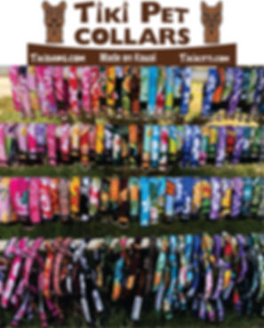 Tiki pet collars grouping.jpg