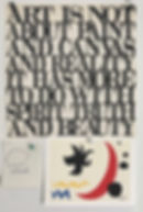 Inspiring words - Calder and cloud