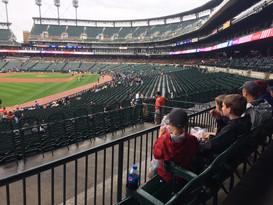 Tigers Baseball game
