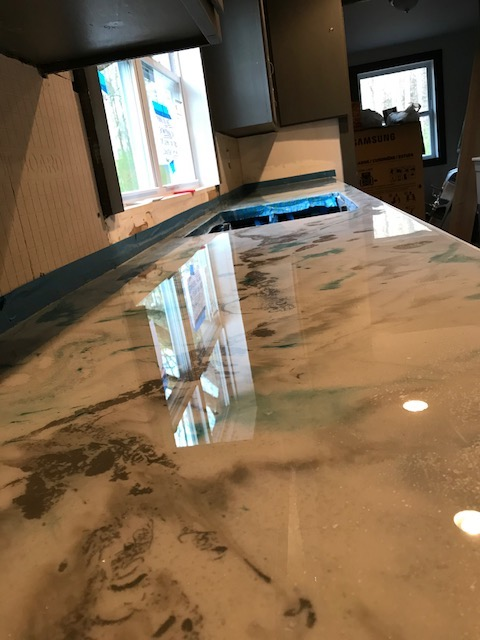 countertop finished 10