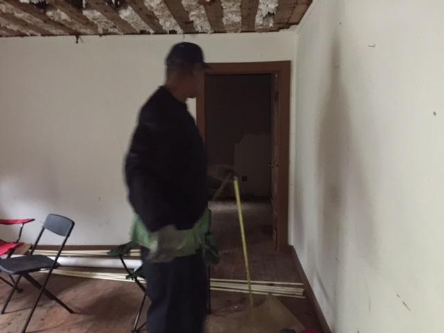 Victor measuring wall