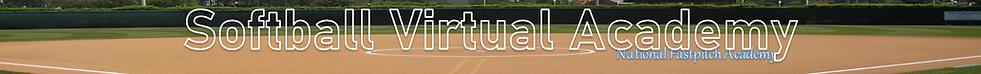 NFA Softball Virtual Academy Thin Banner
