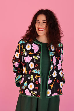 Pollination Quilted Jacket