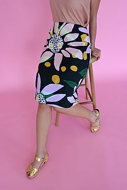 Daisy Pencil Skirt