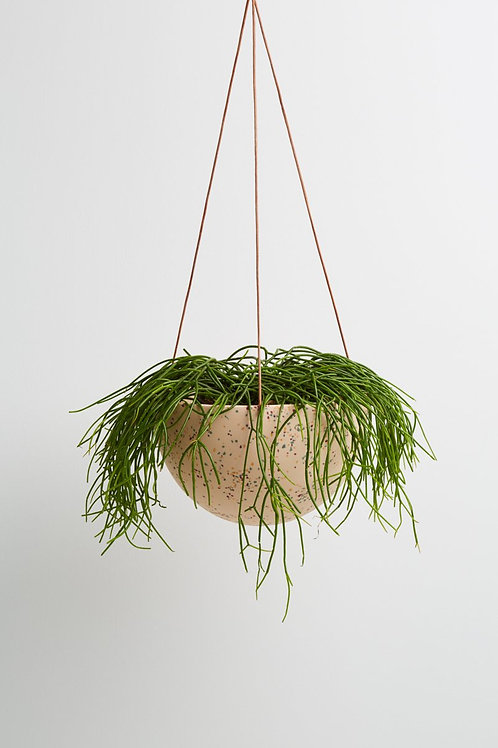 Dome Hanging Planter - Pink Terrazzo