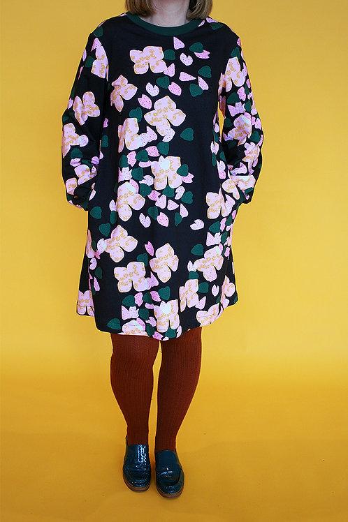Botanical Jumper Dress