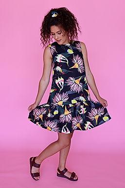Forty Spots Ruffle Dress