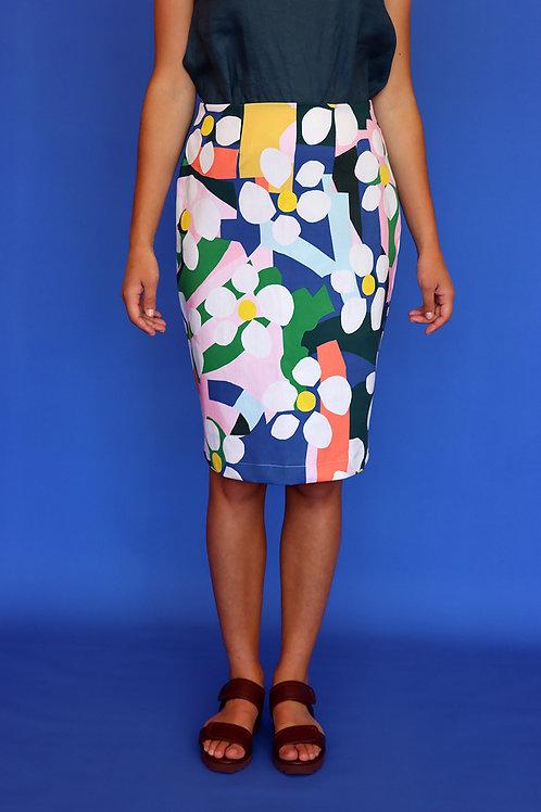 Bloom Pencil Skirt