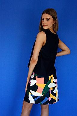 Pepe Cord A-line Skirt