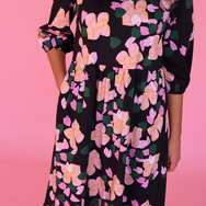 Botanical Puff Sleeve Dress 3.jpg