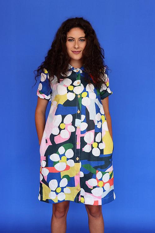 Bloom Shirt Dress