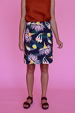 Forty Spots A-line Skirt