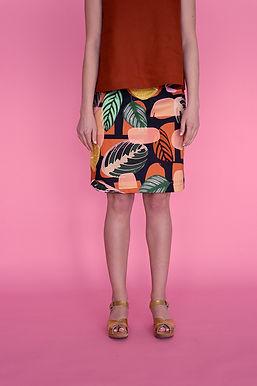 Inside A-line Skirt