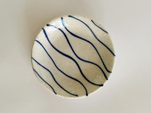 Stripe Salt Dish