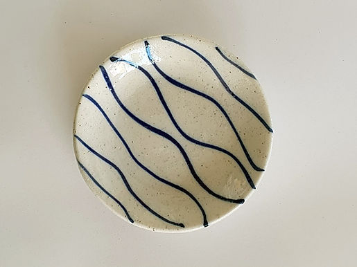 Stripe Salt Dish