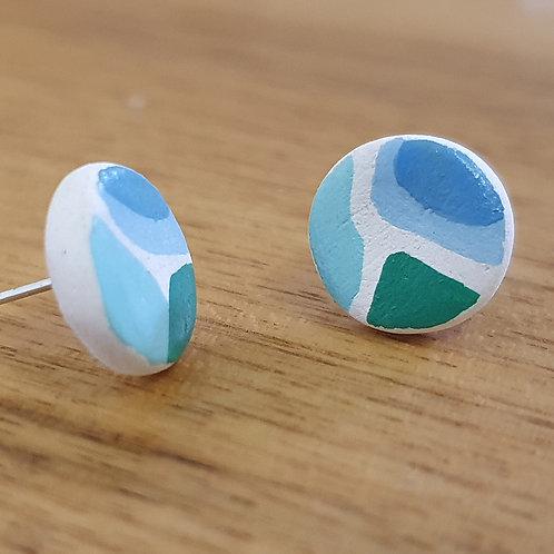 Saltwater Stud Earrings