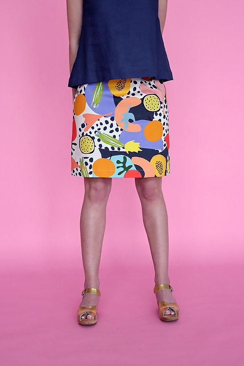 Outside A-line Skirt