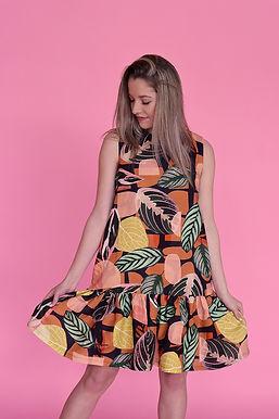 Inside Ruffle Dress