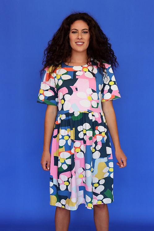 Bloom Smock Dress (Mid Sleeve)