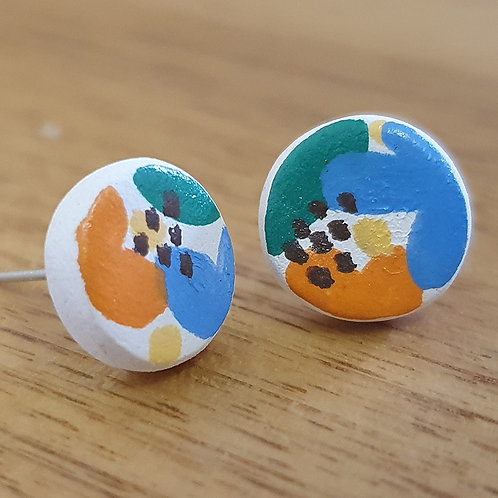 Vine Stud Earrings