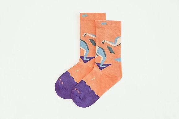 Run Sock- Dark Lavender