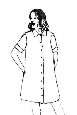 Custom Made Shirt Dress