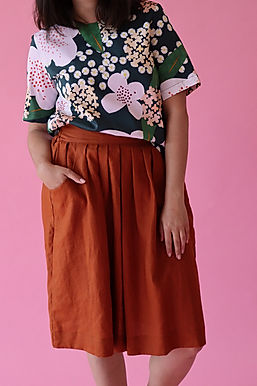 Paprika Waisted Skirt