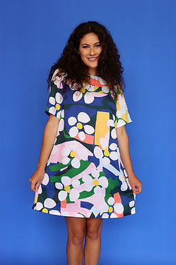 Bloom Shift Dress (Tencel)