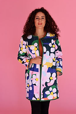 Bloom Long Quilted Jacket