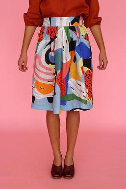 Camp Waisted Skirt