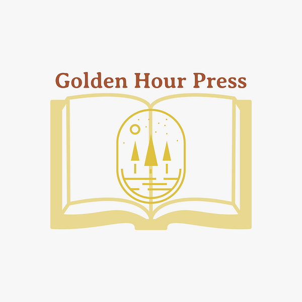 """Golden Hour Press"" Logo"