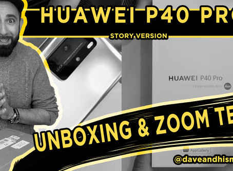 Huawei P40 Pro - UNBOXING & ZOOM TEST