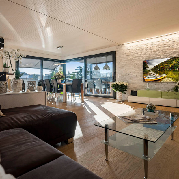 Architekurfotografie Wohnzimmer | David Avolio | one idea