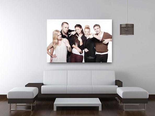 Foto auf Leinwand vom Familien Fotoshooting