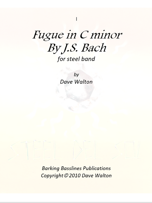 Fugue in C minor by J.S. Bach