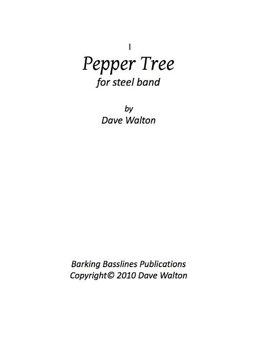 Pepper Tree