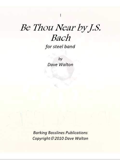 Be Thou But Near by J.S. Bach
