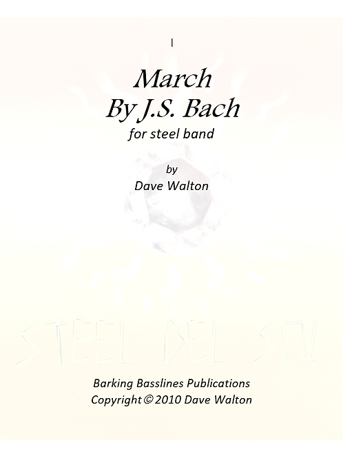 March by J.S. Bach