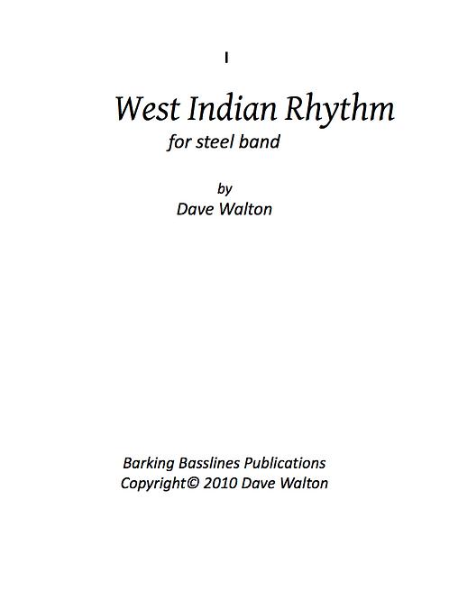 West Indian Rhythm
