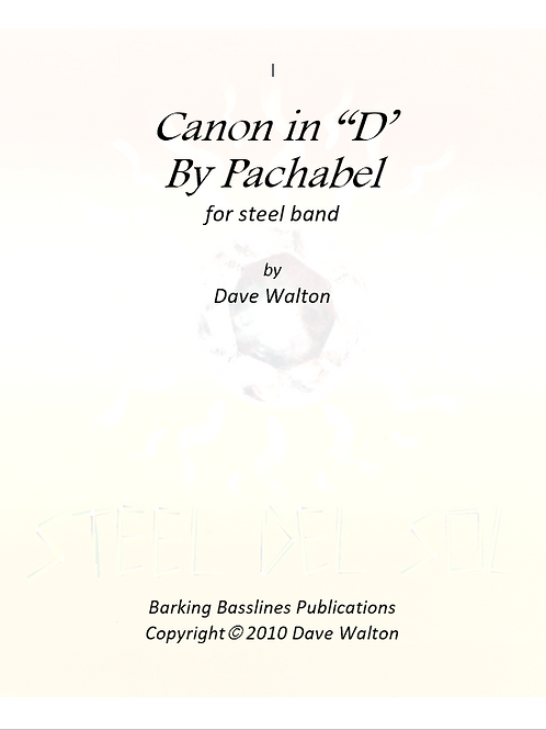 """Canon in """"D""""by Pachabel"""