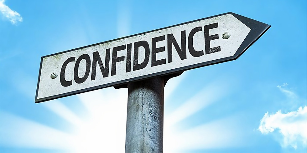 Building up your Confidence