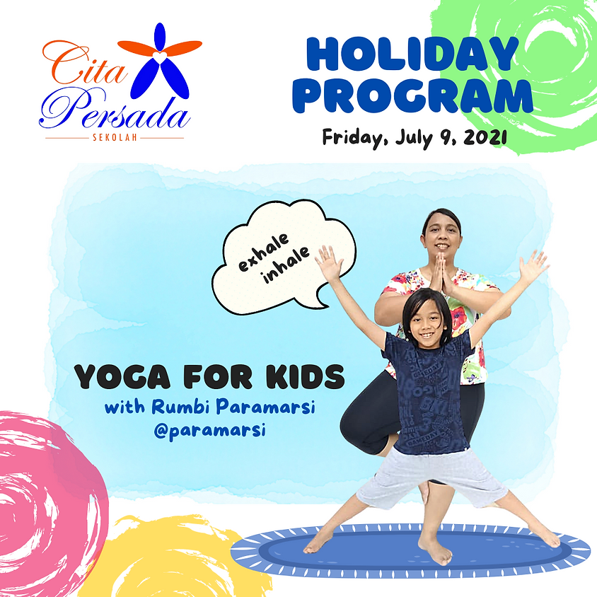 Holiday Program 2021 - Yoga for Kids