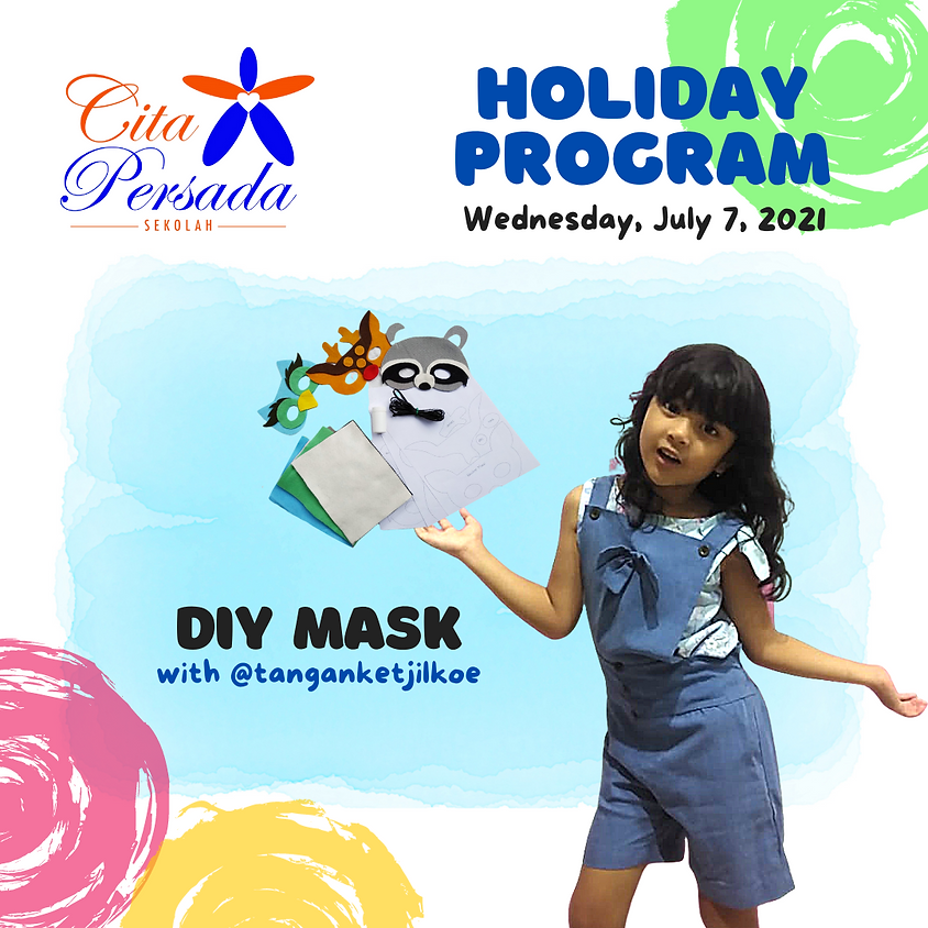Holiday Program 2021 - DIY Mask