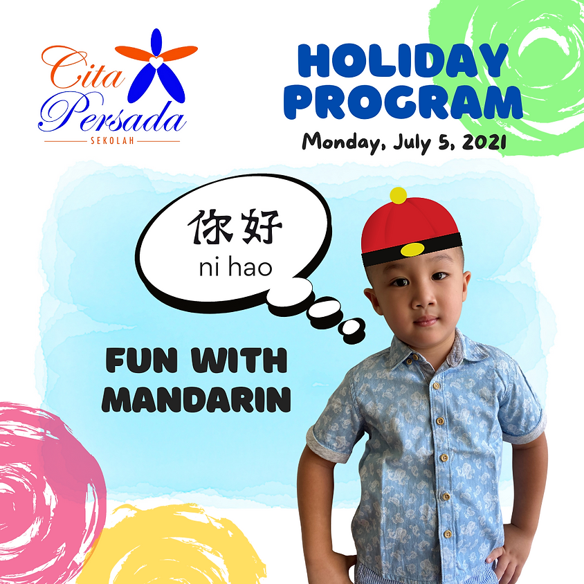 Holiday Program 2021 - Fun with Mandarin