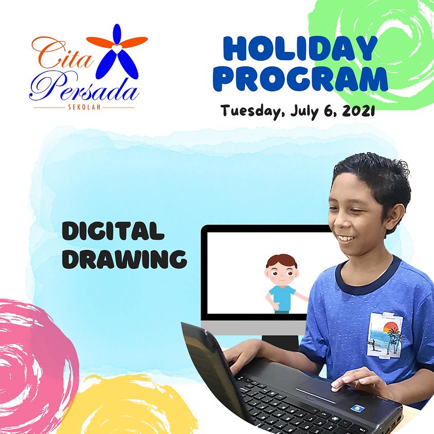 Holiday Program 2021 - Digital Drawing