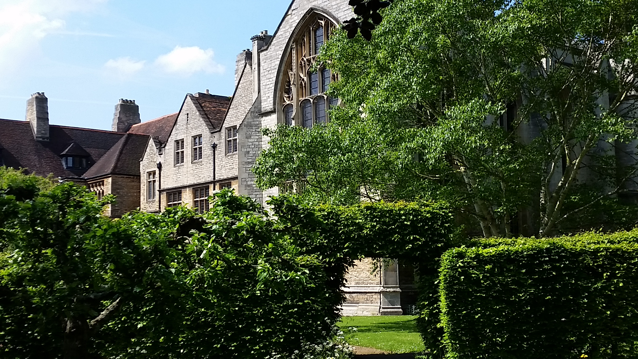 View of The Friary from the Garden