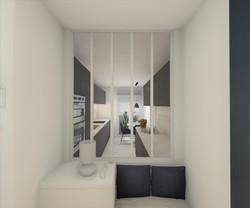 architecture d'intérieure - entrée